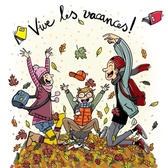 automne feuilles jeux ados