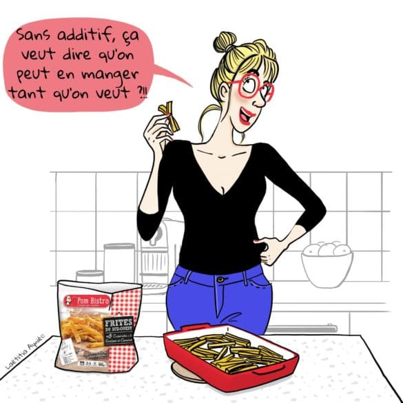 femmes cuisine frites