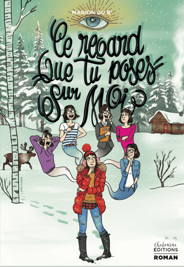 couverture roman illustrations foret canada ,laetitia aynié