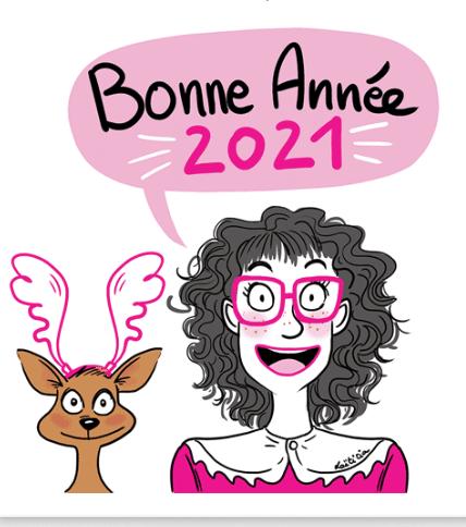 bonne année_2021_Laetitia aynié illustrations_chihuahua