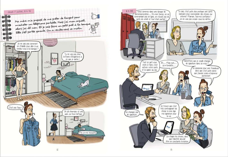 Aurelie Laflamme_Laetitia aynié illustrations_india Desjardins_bande dessinée