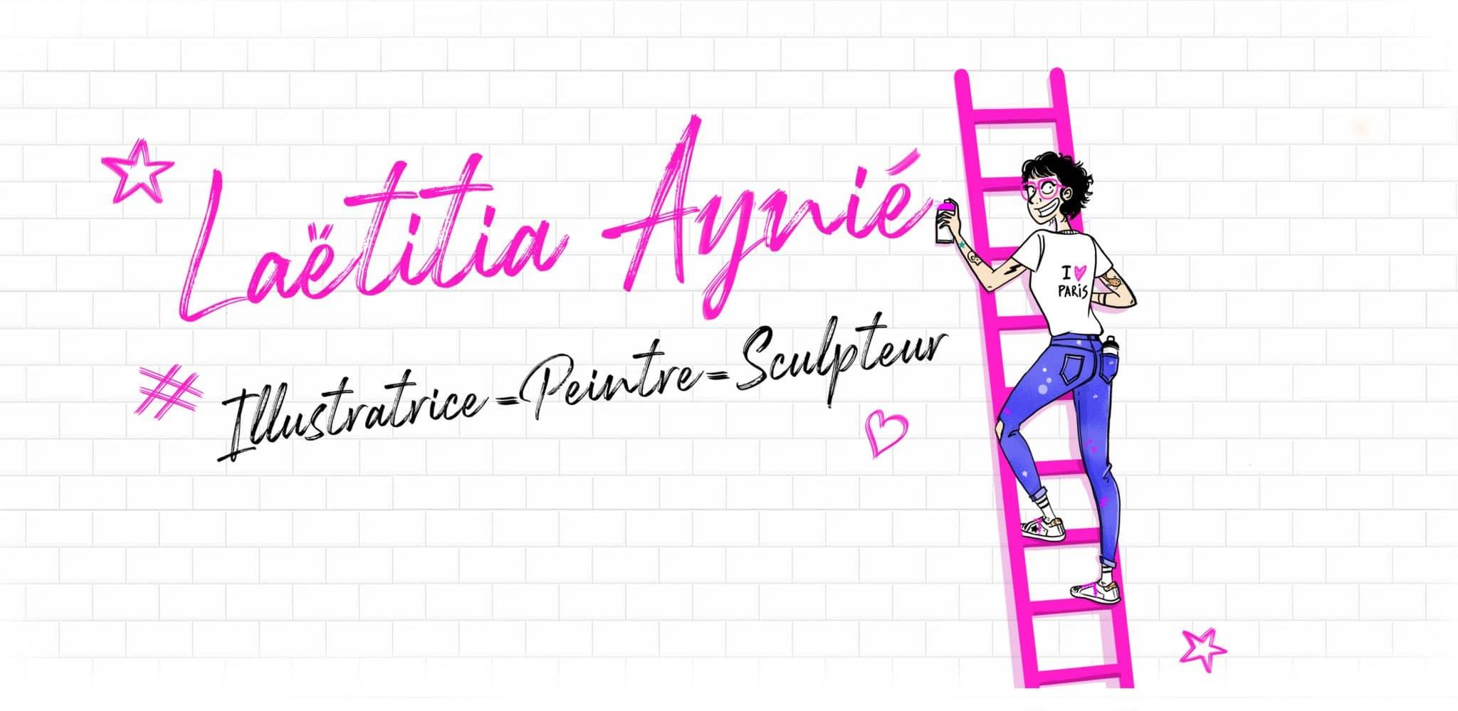 Laëtitia Aynié – Illustratrice Peintre Sculpteur